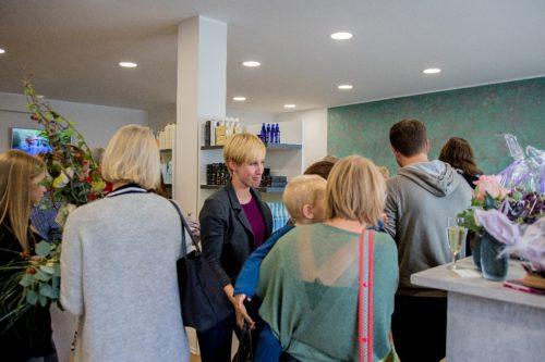 Impressionen der Neueröffnung unseres Salons